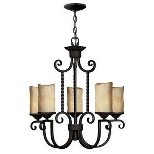 Jamar 5-Light Shaded Chandelier