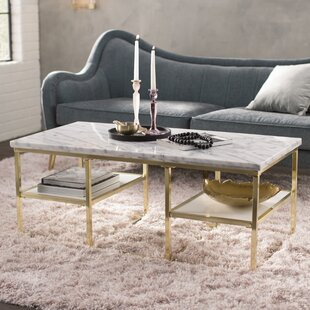 Superbe Isabelle Marble Coffee Table