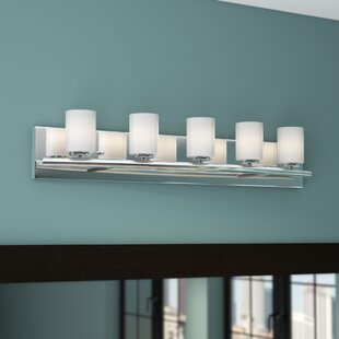 Orren Ellis Ayesha 5-Light Vanity Light