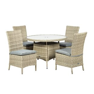 4 Seater Dining Set With Cushions Image