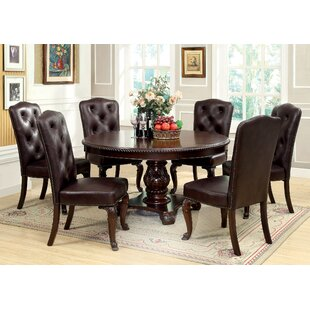 brown cherry dining table - Dark Dining Room Table