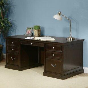 Martin Home Furnishings Fulton Double Pedestal Executive Desk