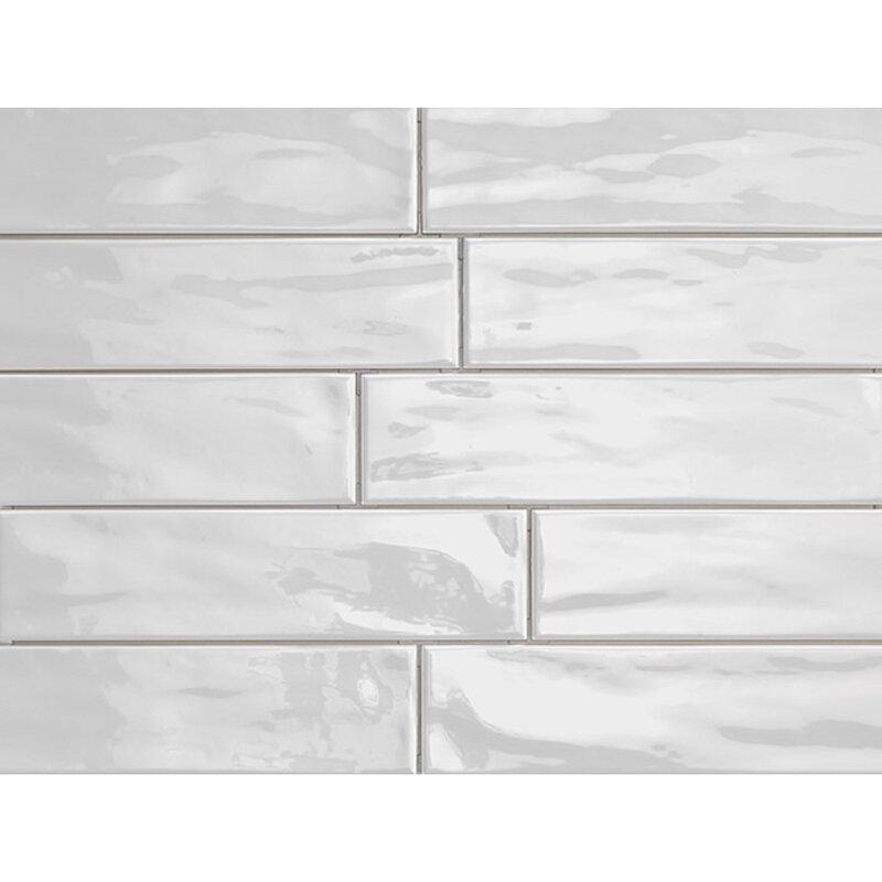 Organic Brick 3 X 12 Porcelain Subway Tile In
