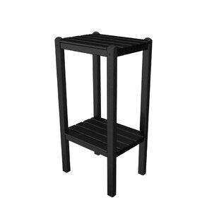 POLYWOOD® Two Shelf Bar Side Table