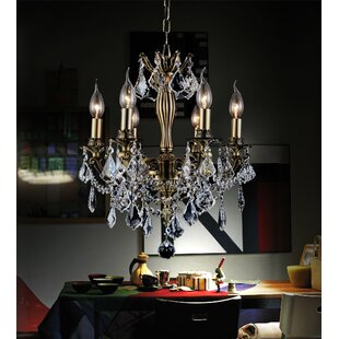 CWI Lighting 6-Light Candle Style Chandel..