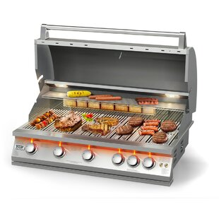 5-Burner Built-In Natural Gas Grill By BroilChef