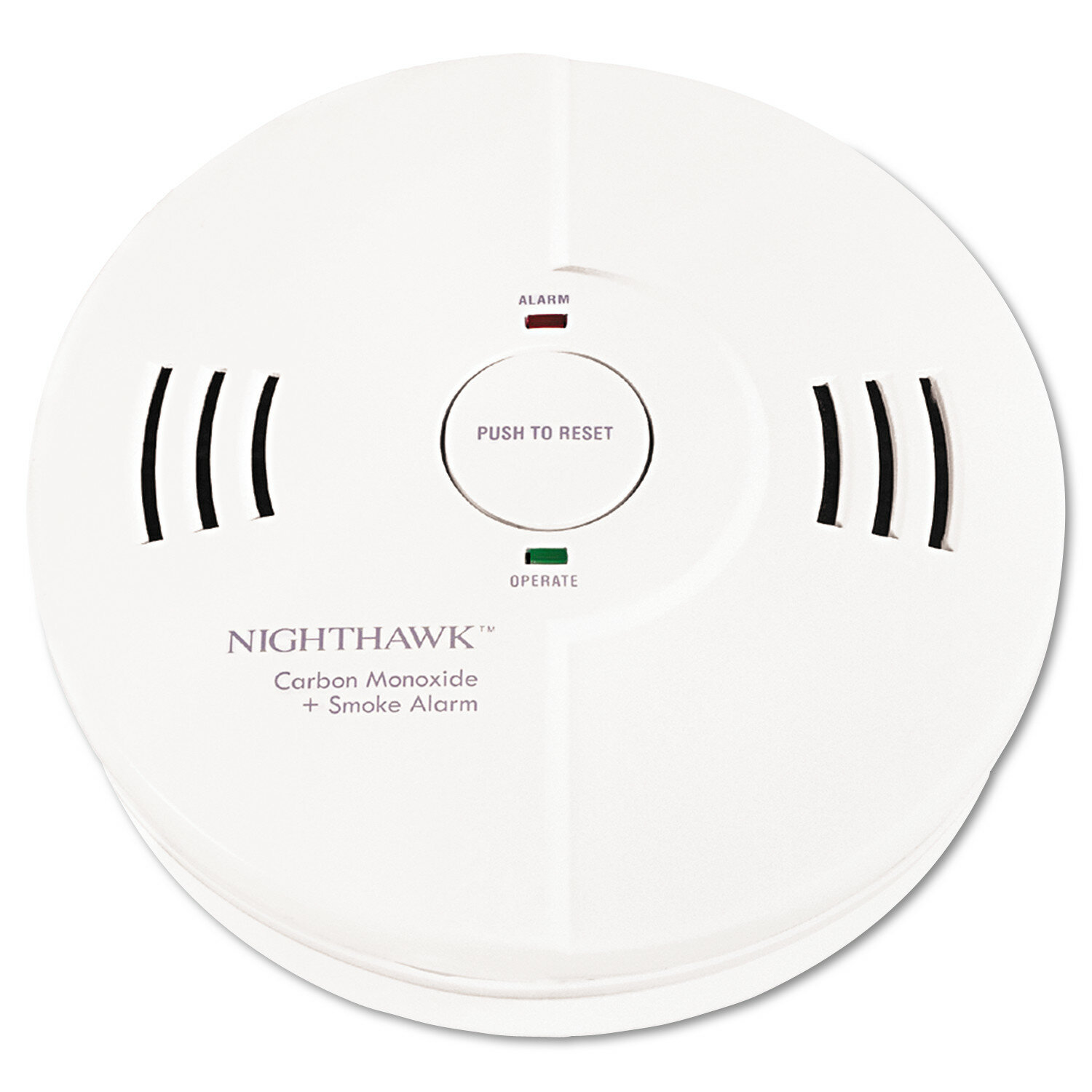 Kidde Night Hawk Combination Smoke Co Alarm With Voice And Alarm