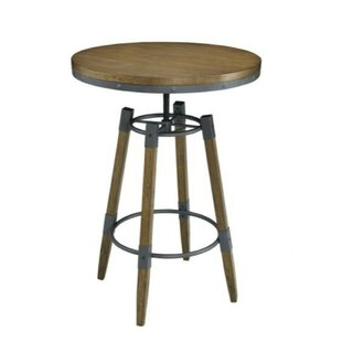 Mccoy Chic Urban Adjustable Pub Table by Williston Forge