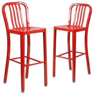 Red Bar Stools Youu0027ll Love | Wayfair