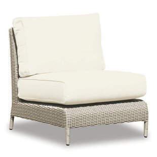 Manhattan Armless Club Chair with Cushions