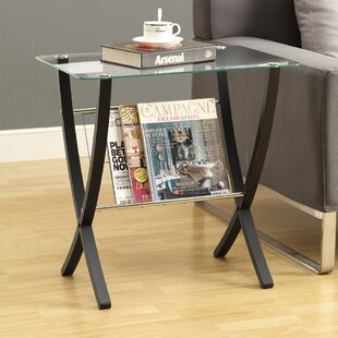 Hotchkiss Magazine End Table By Red Barrel Studio