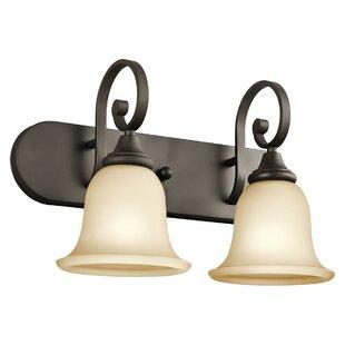 Affordable Price Bretton 2-Light Vanity Light By Red Barrel Studio