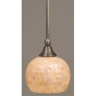 Nunn Stem Mini Pendant With Hang Straight Swivel by Red Barrel Studio