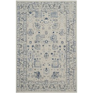 Harwood Silver/Silver Area Rug