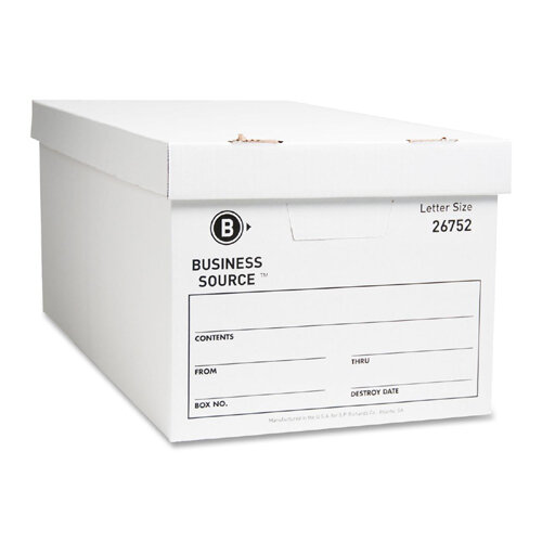 Legal Size Professional Sale Storex Archive Storage Box 24-inch Depth Black/gray