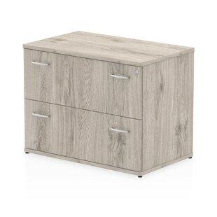 Zetta  2 Drawer Filing Cabinet By Ebern Designs