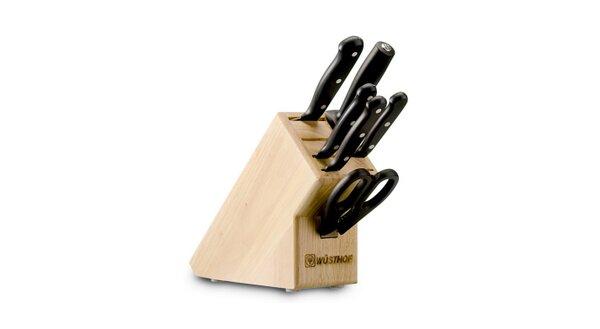 Wusthof Gourmet 7 Piece Knife Block Set