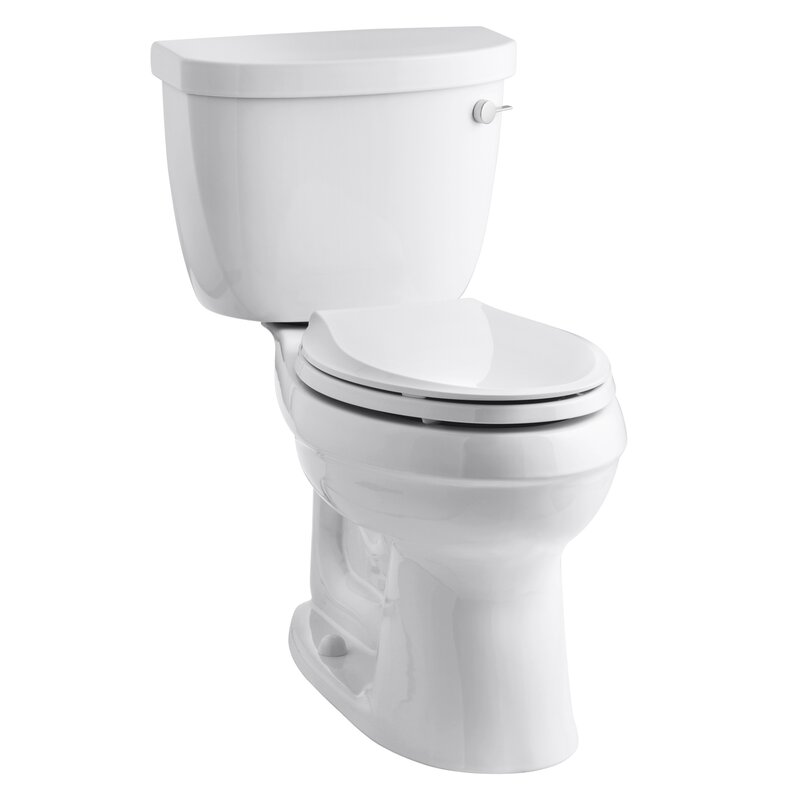 K 3609 Ra 0 Kohler Cimarron Comfort Height 1 28 Gpf Elongated Two Piece Reviews Wayfair
