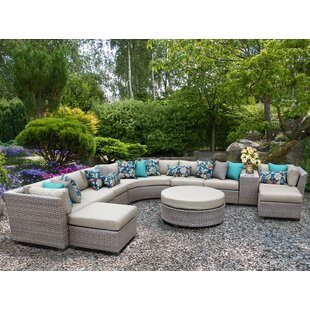 TK Classics Florence 11 Piece Sectional Set with Cushions