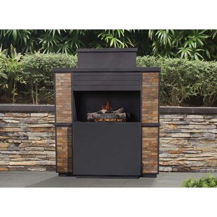 Matheson Steel Propane Outdoor Fireplace