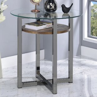 Deals Melora End Table by Latitude Run