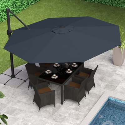 Gribble 11.5 Cantilever Umbrella by Beachcrest Home 2020 Sale