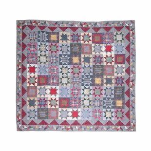 Patch Magic Denim Burst Luxury Quilt