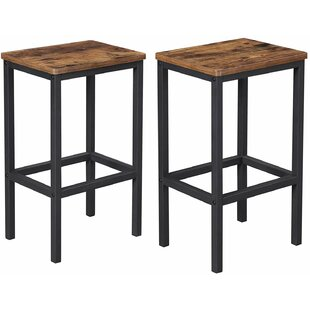 Mayfair 65cm Bar Stool (Set Of 2) By Borough Wharf