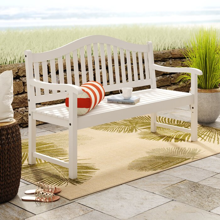 Tremendous Enright Wooden Garden Bench Evergreenethics Interior Chair Design Evergreenethicsorg