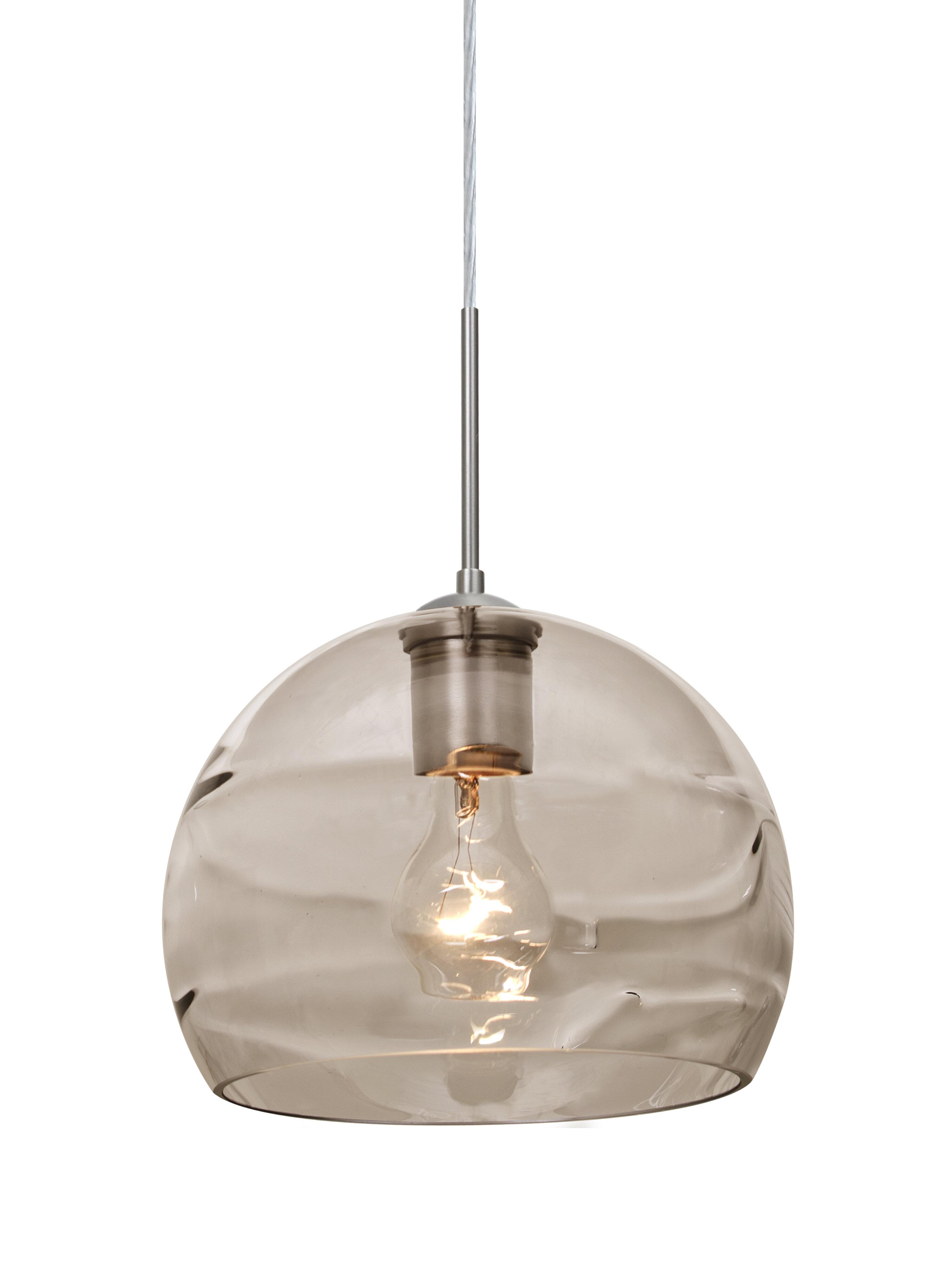 House Of Hampton Grajeda 1 Light Single Dome Pendant Reviews Wayfair