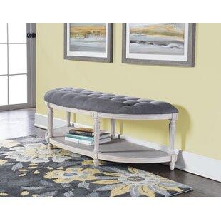 One Allium Way Duke Upholstered Bench