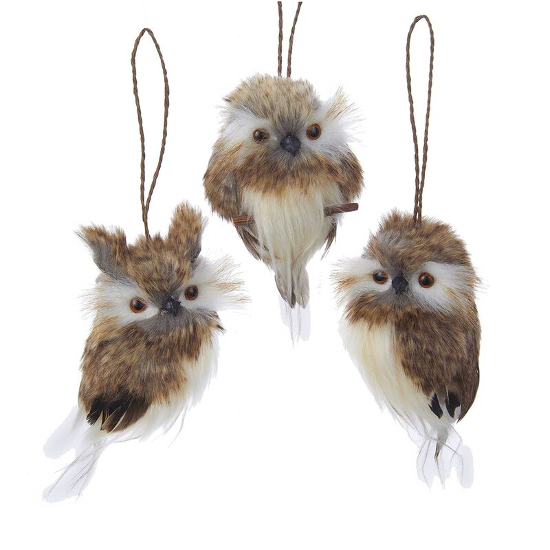 3 Piece Owl Hanging Figurine Set Reviews