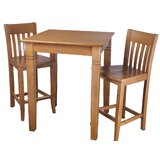 Earnhardt 3 Piece Pub Table Set by Darby Home Co