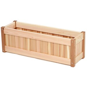 western red cedar planter box - Wooden Planter Boxes