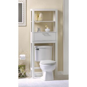 "Vogue Saver 23.75"" W x 52"" H Over the Toilet Storage"