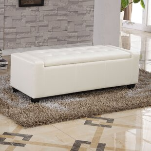 Upholstered Storage Bench by Bellasario Collection Find