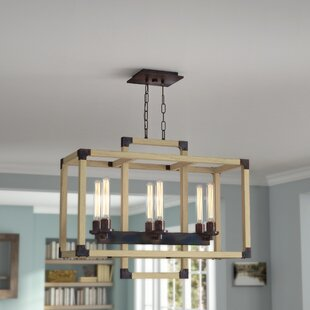 Union Rustic Tianna 6-Light Kitchen Island Pendant