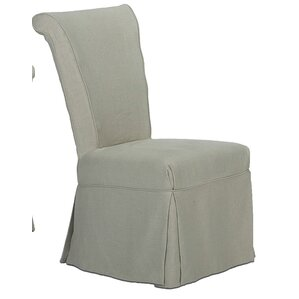 Corseted Upholstered Dining Chair by Sarreid Ltd