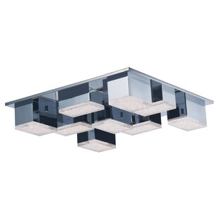 Orren Ellis Glaucus 9-Light Flush Mount