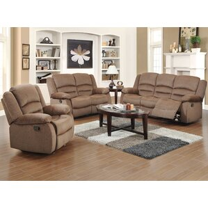 Maxine 3 Piece Living Room Set by Red Barrel Studio