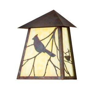 Stratmoor Song Bird Outdoor Flush Mount b..