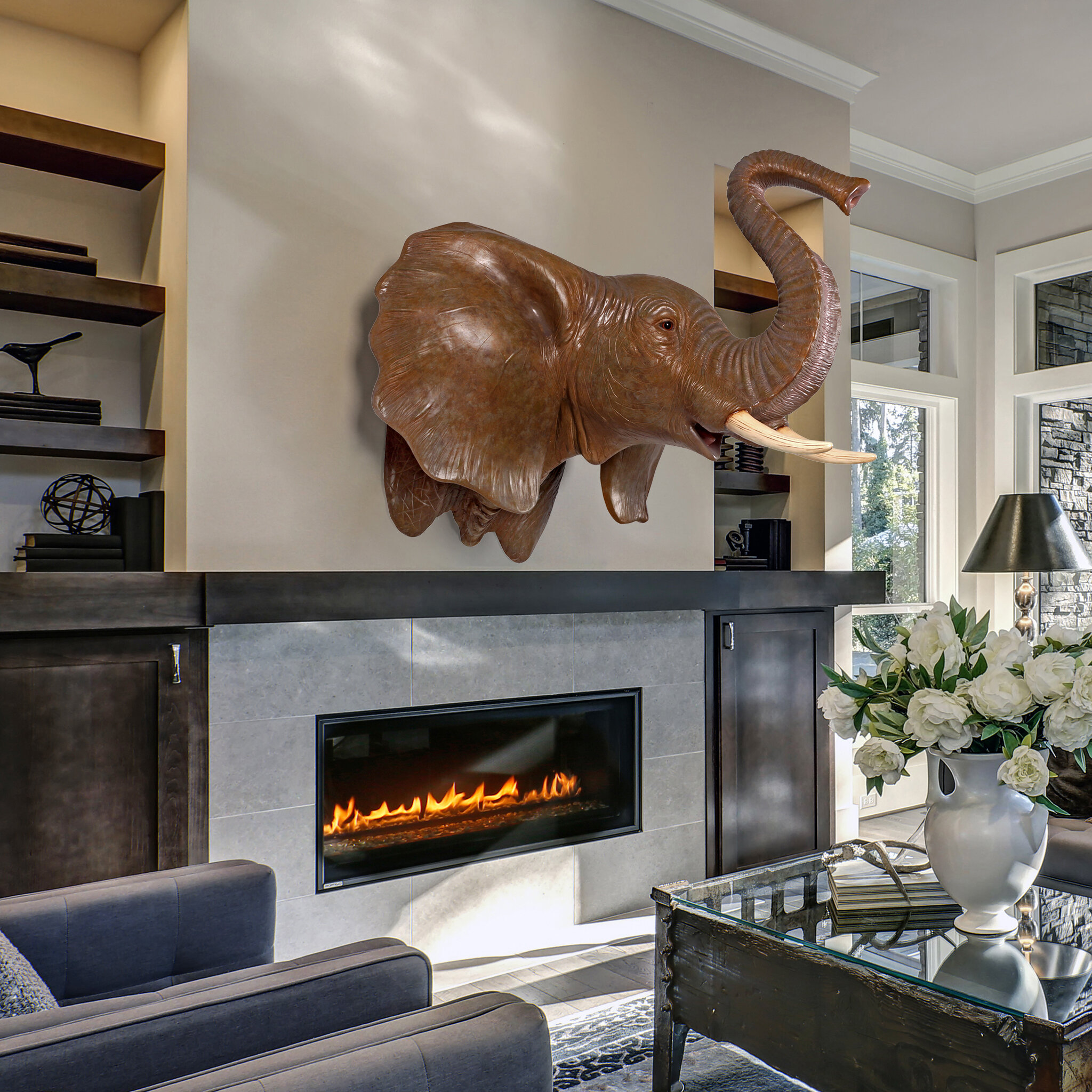 Design Toscano Exotic African Elephant