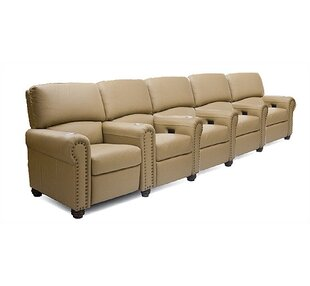 Showtime Home Theater Row Seating Row of 5 by Bass