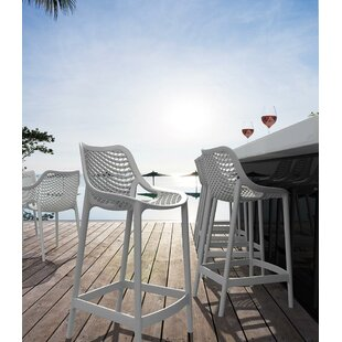 Mercury Row Deines Patio Bar Stool (Set o..