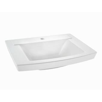 Barclay Styx Vitreous China Rectangular Vessel Bathroom Sink