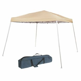Abba Patio Slant Leg Instant Easy 8 Ft. W x 8 Ft. D-Feet Steel Pop-Up Canopy
