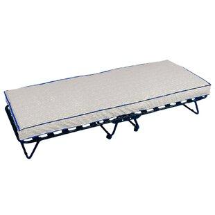 Mitzi Folding Bed with Mattress by Symple Stuff