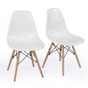 Lillian Solid Wood Dining Chair (Set of 2) by Lang