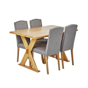Parkersburg Dining Set With 4 Chairs By ClassicLiving
