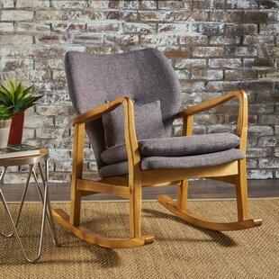 Saum Fabric Rocking Chair ..